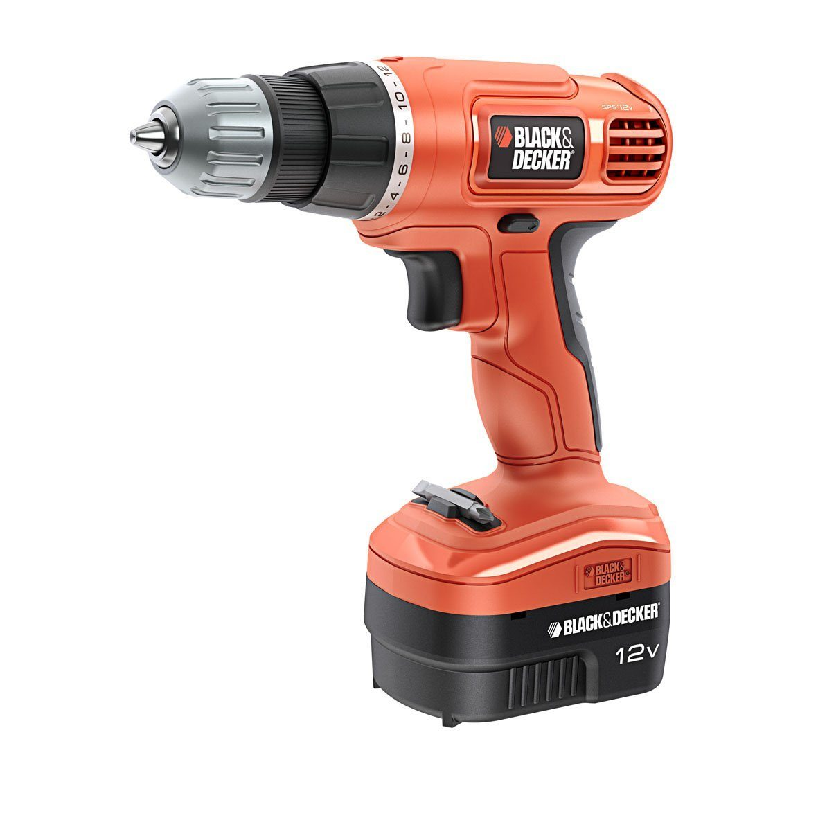 Perceuse simple sans fil Black & Decker